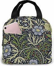 TTmom William Morris Art Prints Portable Insulated