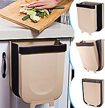 TTMOW Hanging Trash Can Folded for Kitchen Cabinet