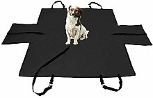 TTXP Car Boot Covers Black Dog Seats for Cars for