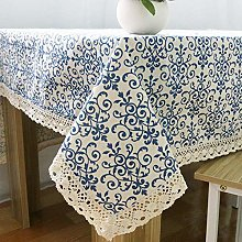 TUA Retro Blue And White Porcelain Classic Chinese