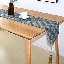 TUANZI Exquisite table runner Modern Cotton Linen