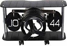 Tubayia Aeroplane Shape Flip Clock Table Clock for