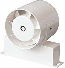 TUBO in Line Bathroom Shower Room Extractor Fan -