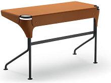 Tucano Desk - / Saddle leather by Zanotta Brown