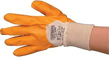 Tuffsafe Light Weight 3/4 Coated Yellow Gloves -