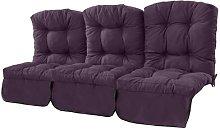 Tufted 3 Seater Garden Sofa Cushion Sol 72 Outdoor