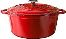 TUHFG Ceramic cooking pot Enameled Cast Iron