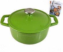 TUHFG Ceramic cooking pot Enameled Cast Iron Soup