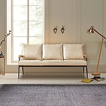 TUKAILAI 3 Seaters Sofa Lounge Faux Leather Soft