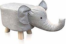 TUKAILAI Animal Elephant Shape Footstools