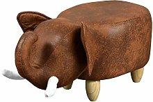 TUKAILAI Animal Shape Footstools Ottomans Padded