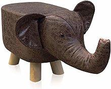 TUKAILAI Animal Shape Footstools Upholstered