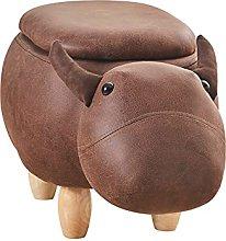 TUKAILAI Animal Shape Storage Footstool Pouffe