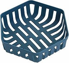 Tuker]Plastic fruit basket kitchen drain basket