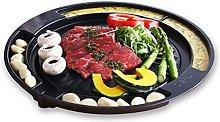 TULGIGS Korean Samgyeopsal Stovetop BBQ Grill Pan,