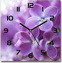 Tulup Glass Wall Clock 23.6x23.6 inch 60x60cm