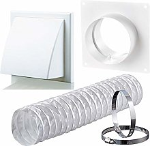 Tumble Dryer Cooker Hood Extractor Fan Wall Duct