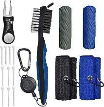 Tumnea Golf cleaning kit Golf accessories kit Golf