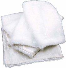 Tuneway Christmas Table Runner 15 72 Fau Fur White