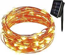 Tuokay Solar Garden Lights, 12m 100 LED 8