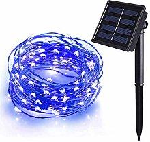 Tuokay Solar Garden Lights 22m 200 LED 8 Twinkling
