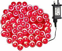 Tuokay Super Bright Plug in Fairy Lights, 12m 100