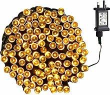 Tuokay Super Bright Plug in Fairy Lights, 22m 200
