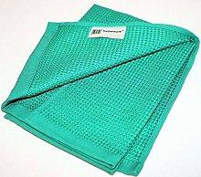TUPPERWARE M04 Microfiber Glass & Window Towel blue