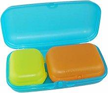 TUPPERWARE Maxi Oysster Box blue + Oyster Box