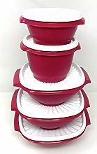 Tupperware Servalier Bowl Set Of 5