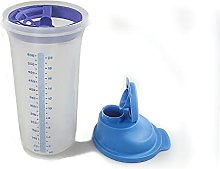 Tupperware Shaker with Whisk Disc Measuring Beaker