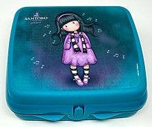 Tupperware To Go Twin Turquoise Aqua Lunch Box
