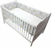 TupTam Baby Cot Bumper All Around Padded Bed