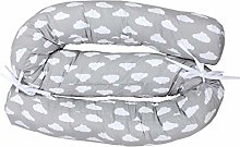 TupTam Baby Cot Bumper Roll Bedding Snake