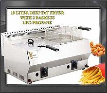 TurcoBazaar Brand Deep Fryer 10 Lt Industrial