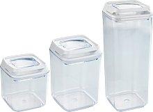 Turin 3 Container Food Storage Set Wenko