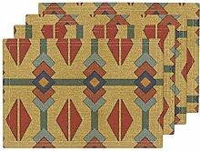 Turkish Inspired Geometric Kilim Washable