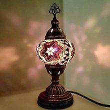 Turkish Lamp Moroccan Lamp Tiffany Style Glass