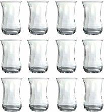 Turkish Tea Glasses Set of 12 Mini Turkish Arabic
