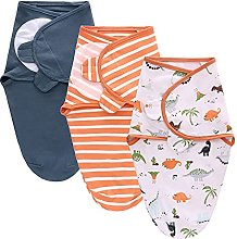 TURMIN Baby Swaddle Wraps for 0-6 Months Newborn
