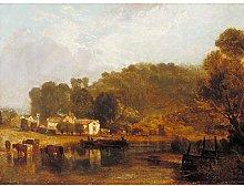 Turner Cliveden On Thames Large Wall Art Print