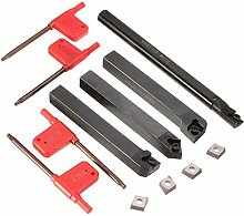 Turning Tools,Lathe Tool Set with 4pcs CCMT 09T3