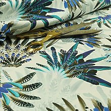 Turquoise Blue Native American Pattern Colourful