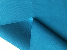 Turquoise Plain DRALON Outdoor Fabric Solid