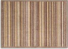 Turtle Mat Sandstone Stripe Door Mat, Brown/Beige