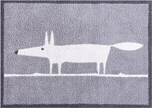 Turtle Mat Scion Mr Fox Door Mat, Blue