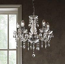 Tuscany 5 Light Ceiling Chandelier Acrylic