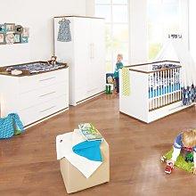 Tuula 3 Piece Nursery Furniture Set Pinolino