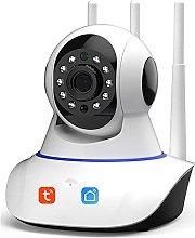 Tuya Smart Life 1080P IP Camera, Wireless WiFi PTZ