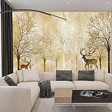 TV Background Wallpaper_3D Living Room Sofa TV